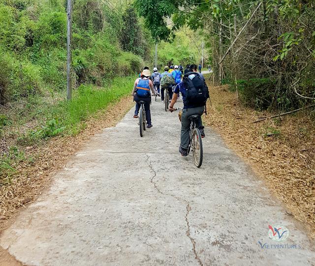 Đạp xe 20 KM trong Rừng Nam Cát Tiên