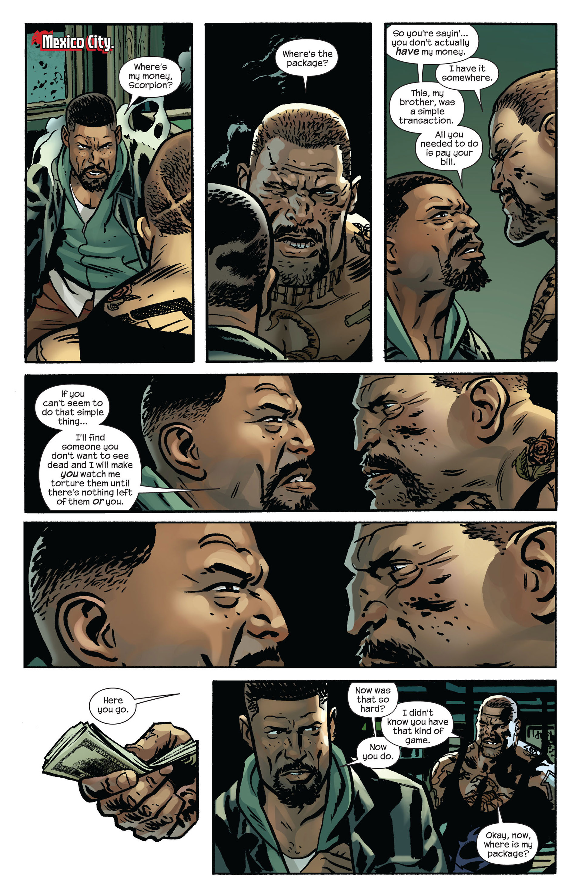Read online Ultimate Comics Spider-Man (2011) comic -  Issue #6 - 11