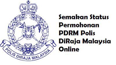 Semakan keputusan jawatan kosong PDRM Polis DiRaja Malaysia Online