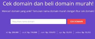 cara beli domain diwebhosting