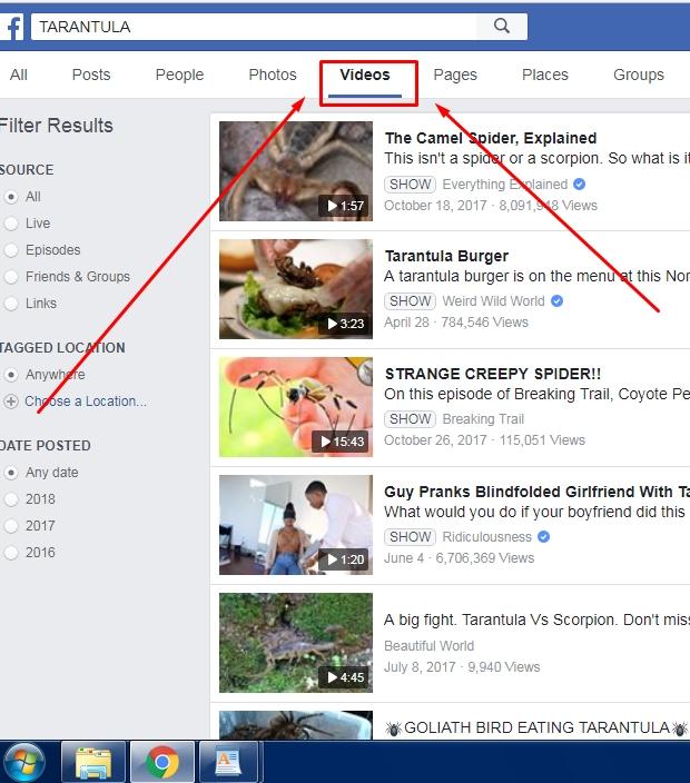 Cara Download Video di Facebook Lewat DREDOWN.COM Tanpa Aplikasi 2019 2