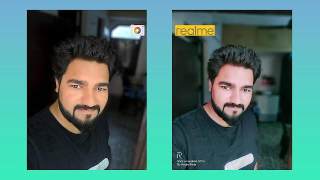 realme 3 pro gcam front portrait