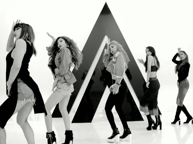 4Minute Crazy MV