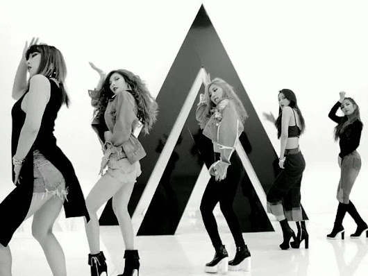 Critical Kpop: (Turn It Up) A Review of 4Minute's 'Crazy' Mini-Album