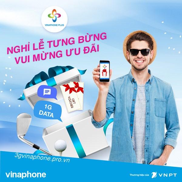 Vinaphone khuyến mãi khủng cho hội viên Vinaphone Plus dịp 30/4