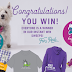 I and Love And You Dog Treats Instant Win Giveaway - Win Dog Greats, Socks, T-Shirt or Hoodies. Limit One Entry Every 8 Hours, Ends 3/26/18
