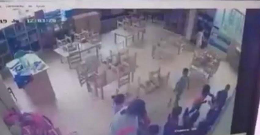 Fiscalía investiga a docente acusada de maltratar a alumnos de un colegio en Huancayo [VIDEO]
