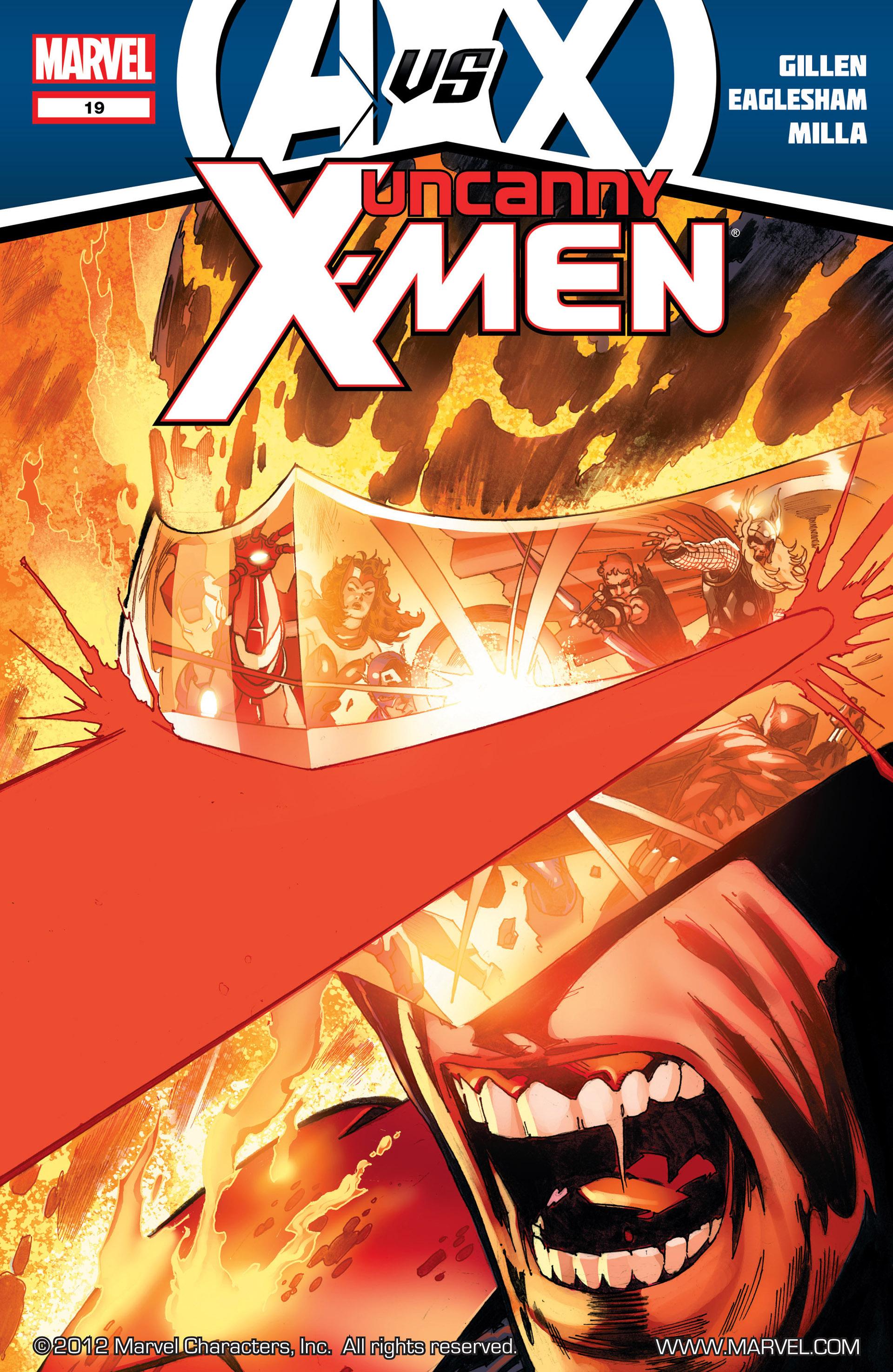 Uncanny X-Men (2012) 19 Page 1