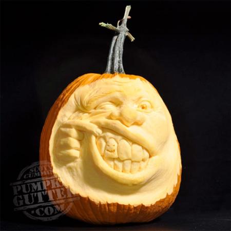Us Post News 3d Pumpkin Carvings