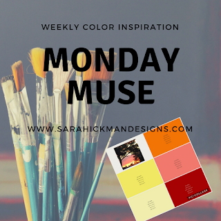 This week's Monday Muse is a beautiful sunrise.