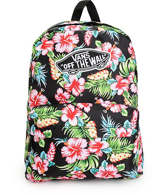 mochila masculina vans