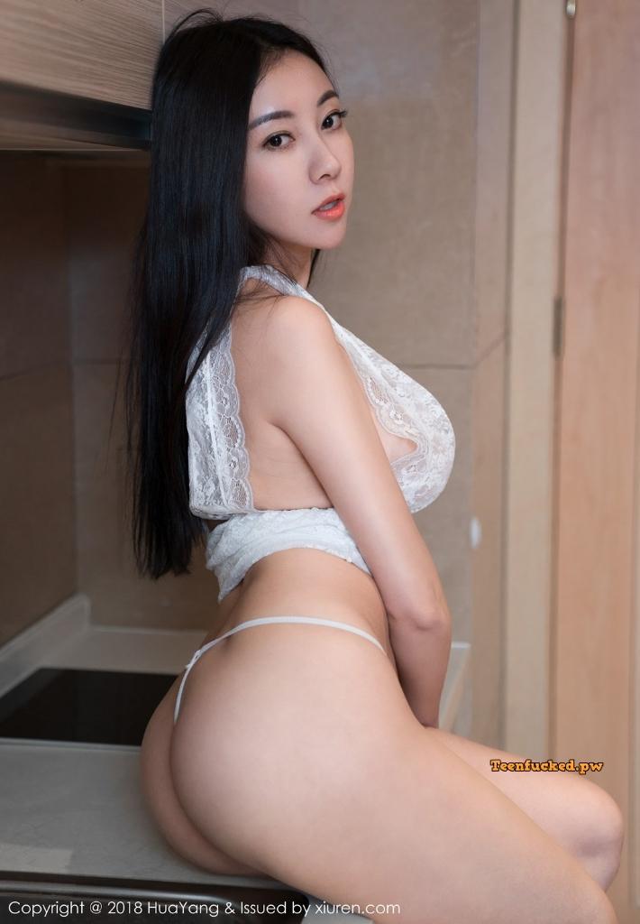 HuaYang 2018 10 23 Vol.090 Victoria Guo Er MrCong.com 034 wm - HuaYang Vol.090: Người mẫu Victoria (果儿) (43 ảnh)