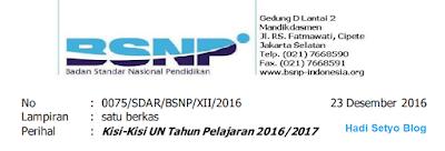 Inilah Kisi-kisi Ujian Nasional (UN) 2016/2017 untuk SMP,SMA dan SMK  img
