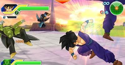 Dragon Ball: Z Tenkaichi Tag Time ppsspp
