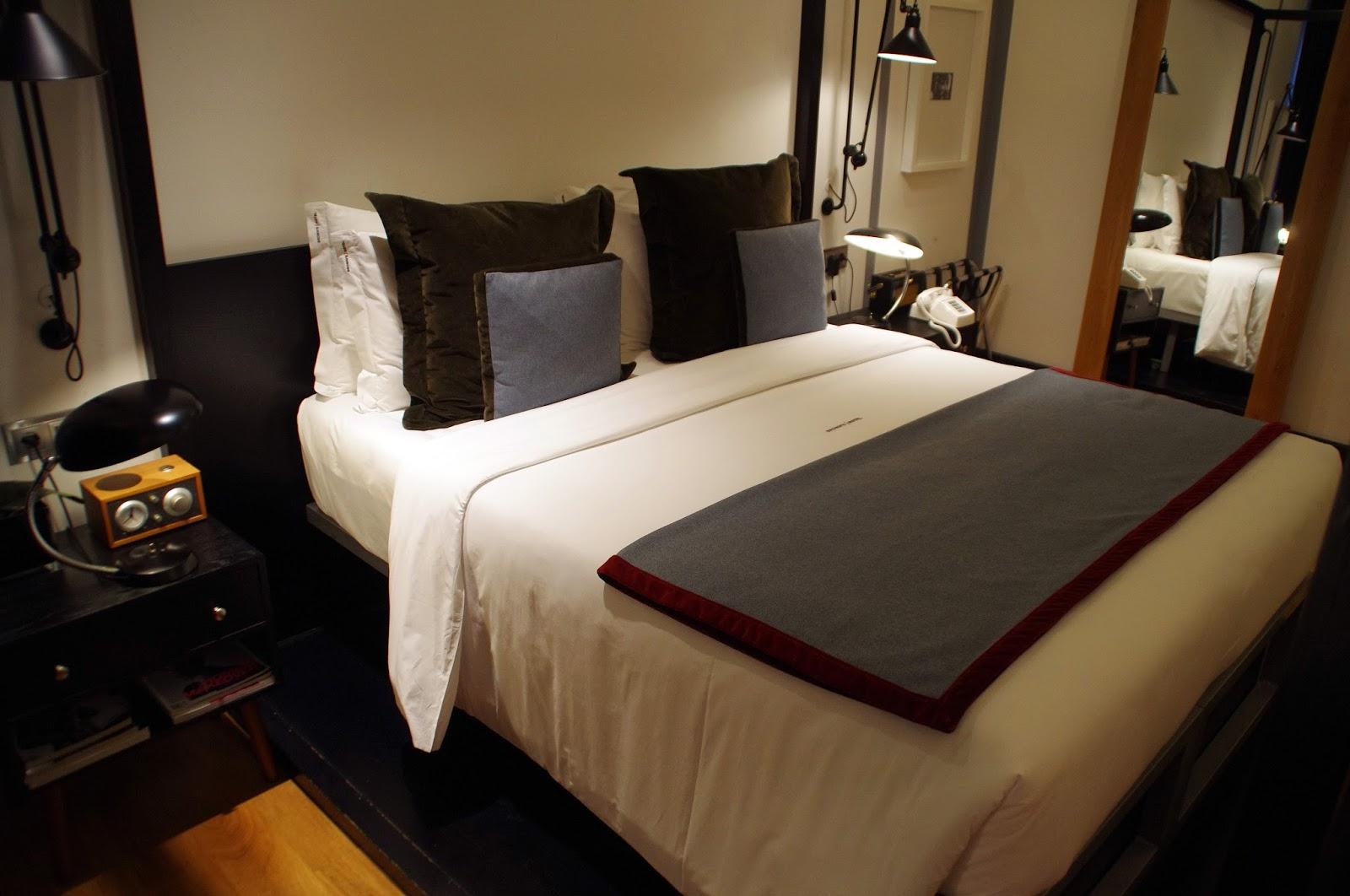 Brown's Central Hotel Lisbon Bed