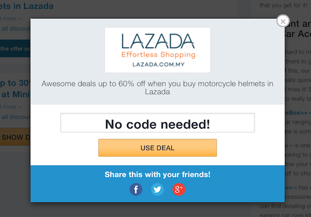 Effortless shopping on Lazada Malaysia