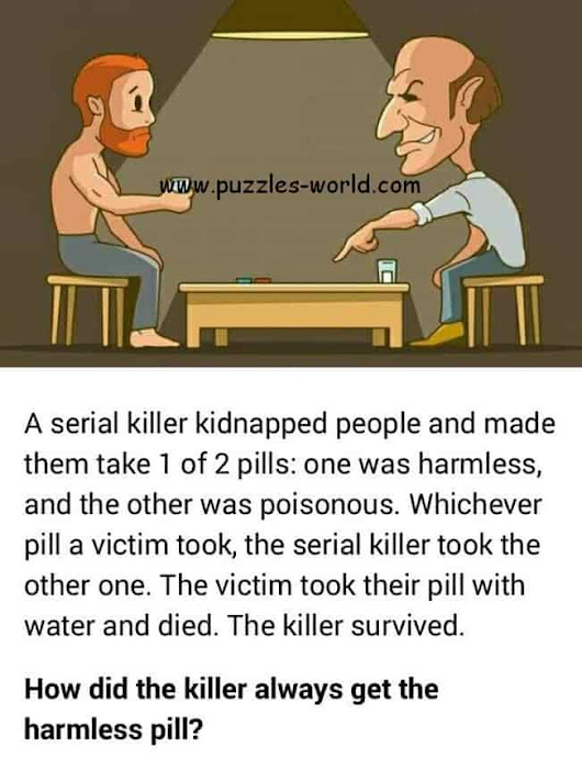 How did the killer always survive