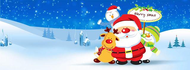 Lovely Santa Merry Xmas Wallpaper