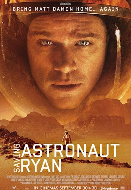 poster honesto de Marte