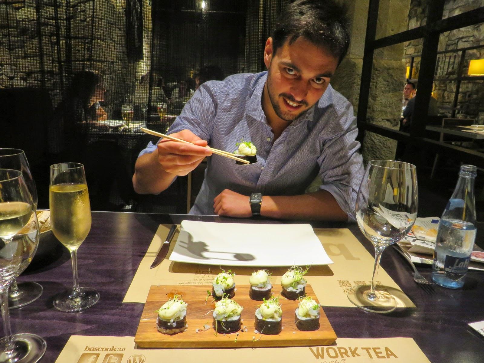 Urbina Vinos Blog Bascook  Restaurante de Aitor Elizegi