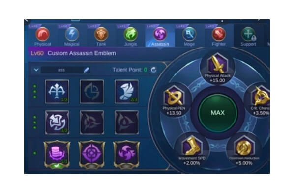 cara menaikkan emblem mobile legends