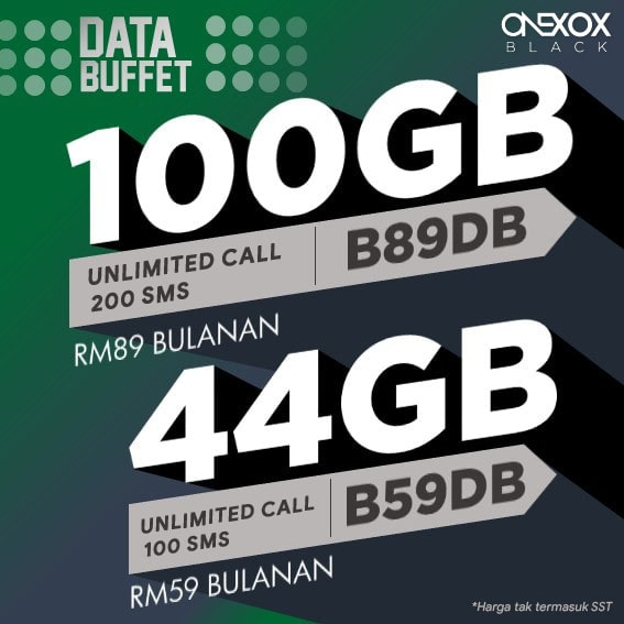 ONEXOX Plan Data Buffet