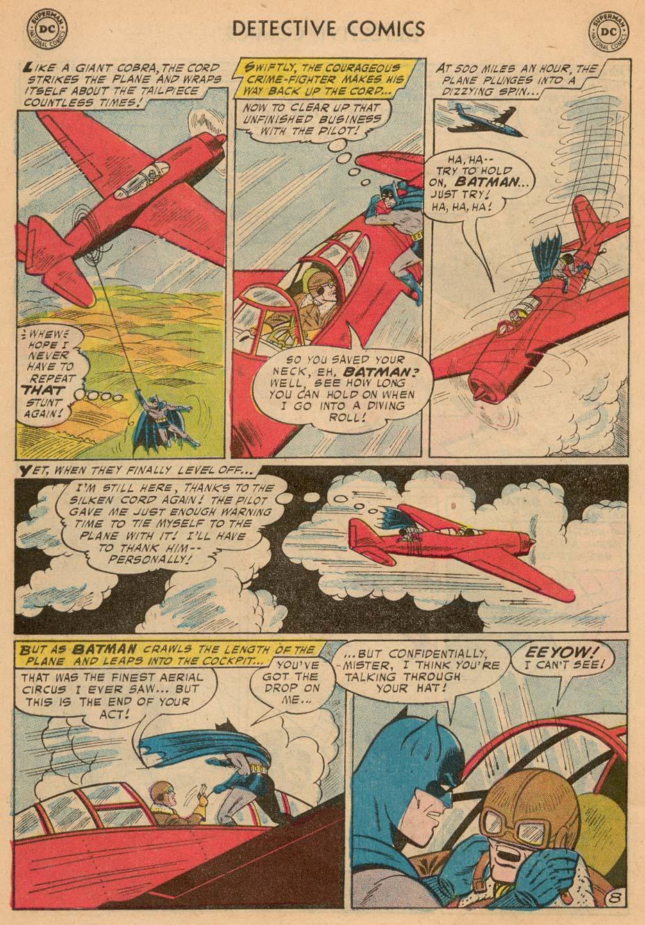 Read online Detective Comics (1937) comic -  Issue #242 - 10