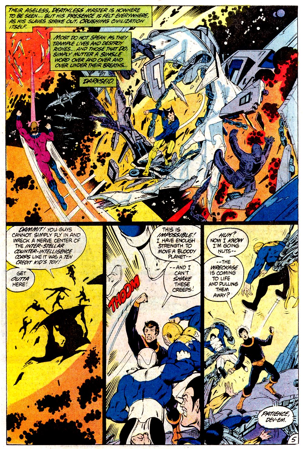 Legion of Super-Heroes (1980) 294 Page 5