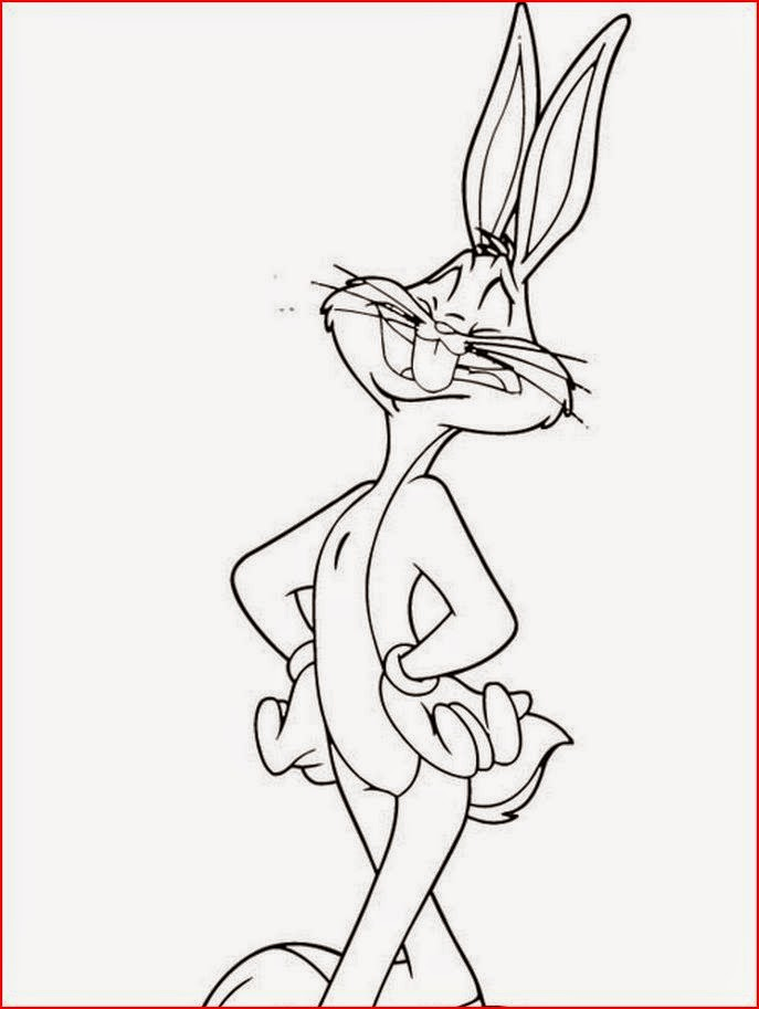 Coloring Pages Bugs Bunny Coloring