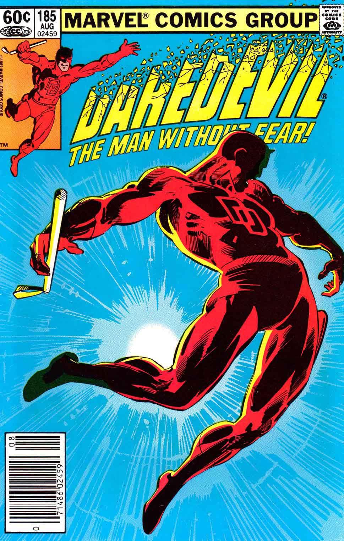 Minimalist Comic Book Covers : Daredevil frank miller art cover pencil ink