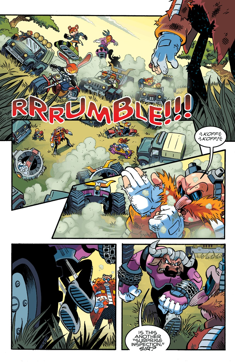Read online Sonic The Hedgehog comic -  Issue #253 - 7