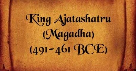 King Ajatashatru of Magadha