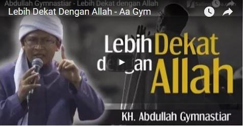 VIDEO: Inilah Yang Aa Gym Lakukan Ketika Mengalami Kondisi Kritis Beberapa Waktu Lalu