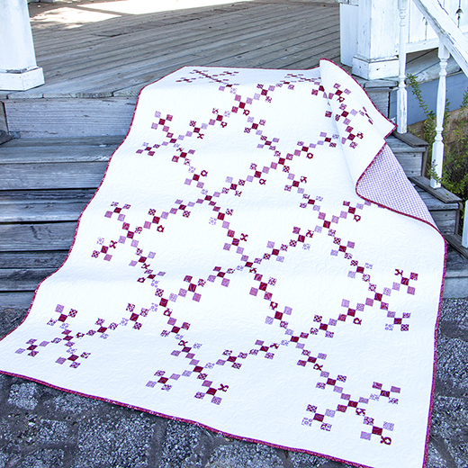 Classic Double 9 Patch Quilt Free Pattern