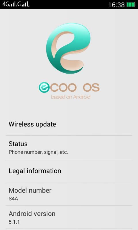 Ecoo OS For Advan S4A Mediatek 6572 - Orata Blog