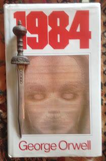 Portada del libro 1984, de George Orwell