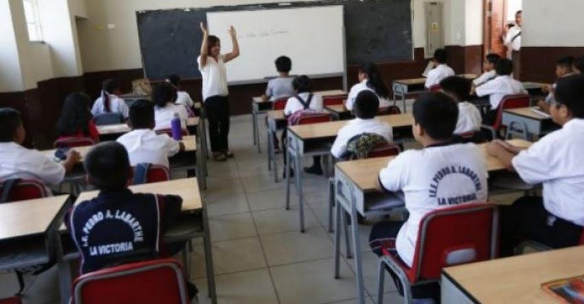 Proyecto de Reglamento de Educación Privada (Hugo Diaz)