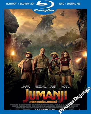 Jumanji En la selva (2017) HD 1080p Latino