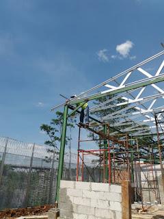 Kontraktor pasang rangka atap baja ringan kab bogor + renovasi bangunan