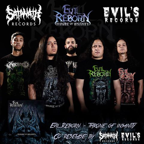 Detail from Evil Reborn New Album, Throne Of Insanity, Detail from Evil Reborn New Album Throne Of Insanity