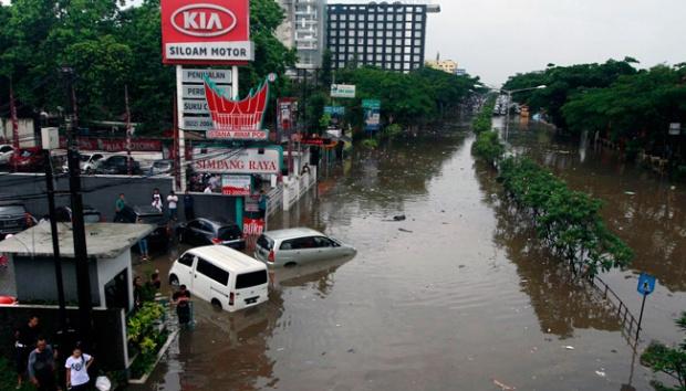 Ternyata Kota Bandung Bisa Banjir Juga Ya Kang Emil