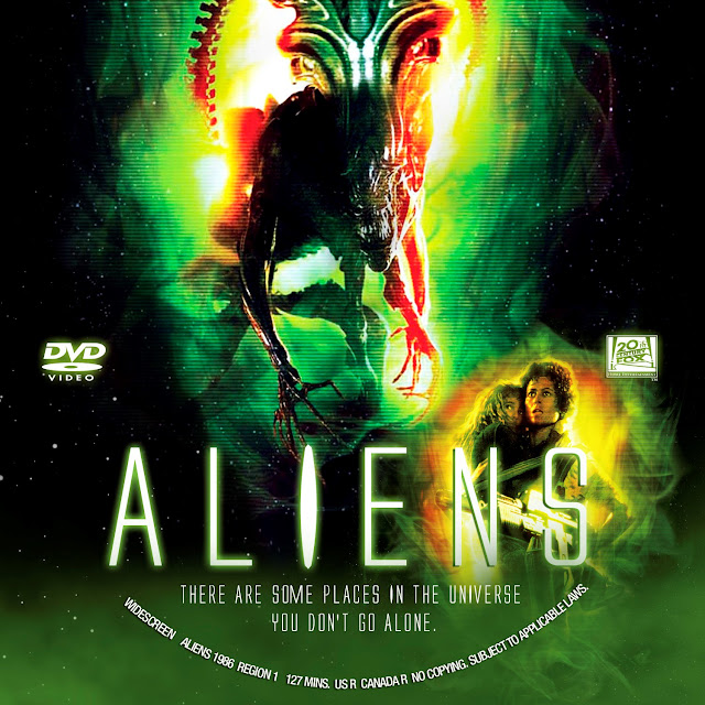 Aliens DVD Label