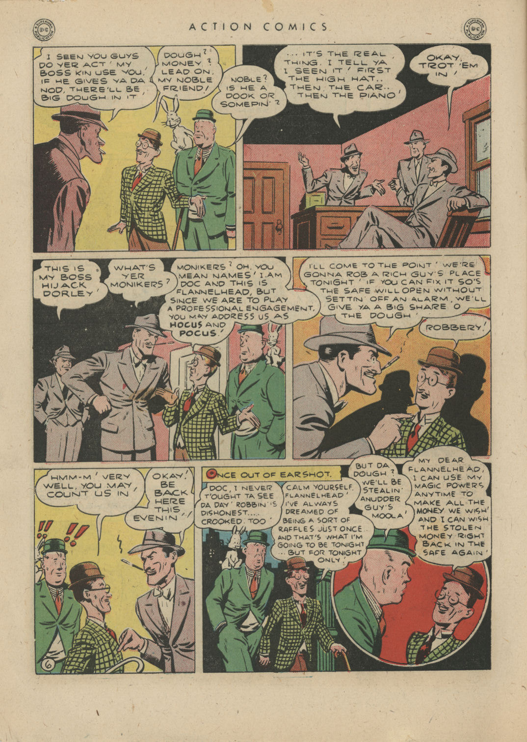 Read online Action Comics (1938) comic -  Issue #83 - 8