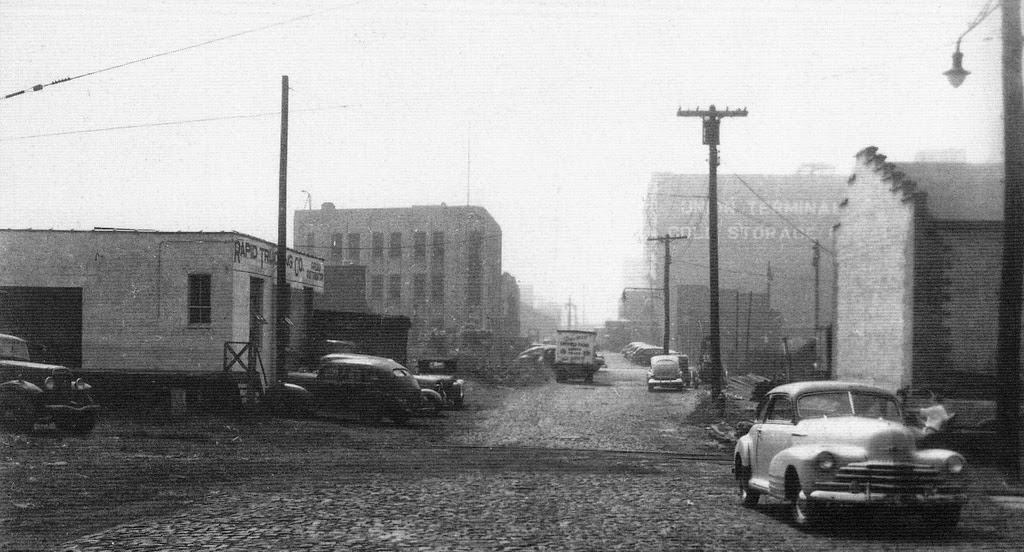 Streets Of Jersey City New Jersey Ca 1940s 1950s
