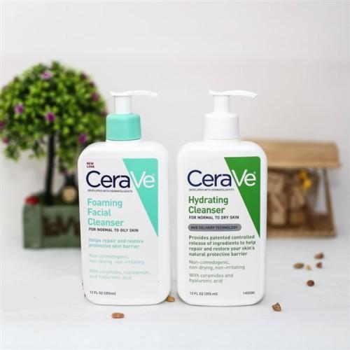 Sữa rửa mặt Cerave giúp da trắng sáng, chống lão hóa da