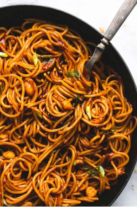 Kung Pao Noodles