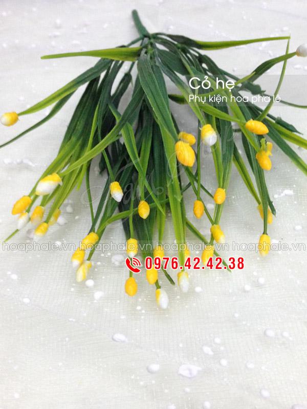 Cỏ hẹ | Cụm cỏ hẹ | Phụ kiện trang trí hoa pha lê