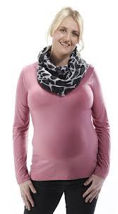 Mama Warm V Neck Long Sleeves Vintage Pink