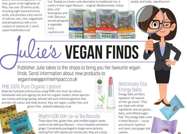 October's issue of Vegan Life Magazine reviewed.  secondhandsusie.blogspot.com #vegan #veganlifemagazine #veganblog