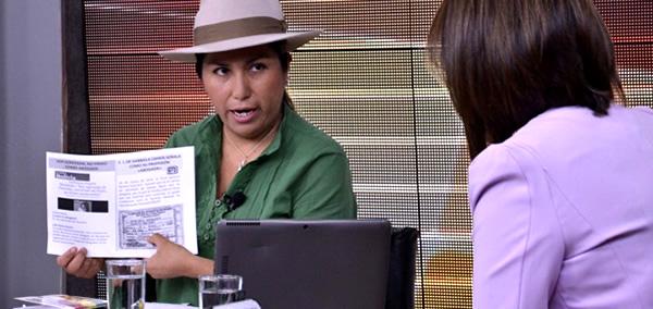 Las 10 mentiras de Gabriela Zapata según Marianela Paco